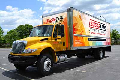 Sugar Land Moving and Storage Truck
